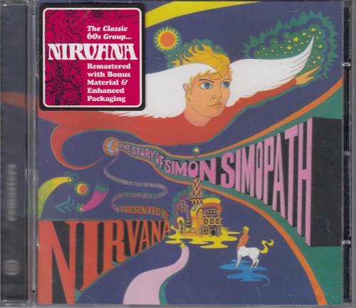 Nirvana (UK) The Story Of Simon Simopath CD album (CDLP) UK NRVCDTH257377