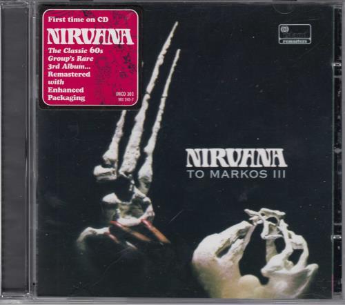 Nirvana (UK) To Markos lll CD album (CDLP) UK NRVCDTO257374