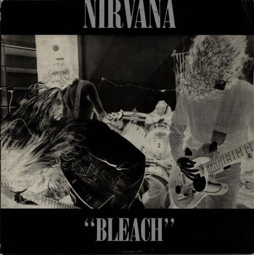 Nirvana (US) Bleach - Green Marble vinyl vinyl LP album (LP record) US NIRLPBL273703