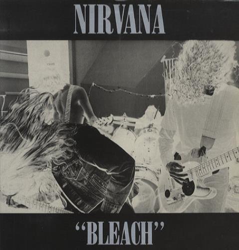 Nirvana (US) Bleach - WHITE VINYL - mint in shrink vinyl LP album (LP record) UK NIRLPBL274259