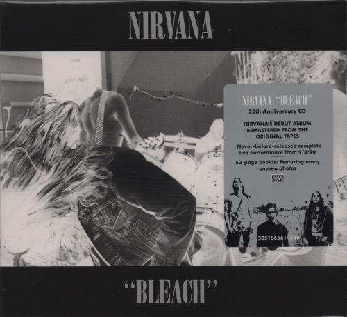 Nirvana (US) Bleach CD album (CDLP) UK NIRCDBL488333