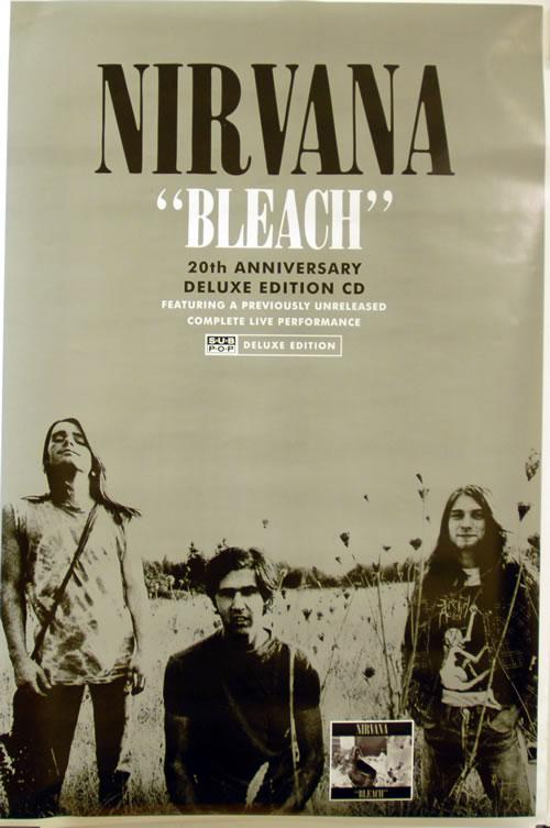 Nirvana (US) Bleach poster UK NIRPOBL633295