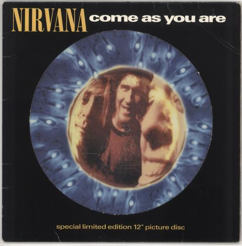 "Nirvana (US) Come As You Are - EX 12"" vinyl picture disc 12inch picture disc record UK NIR2PCO269973"