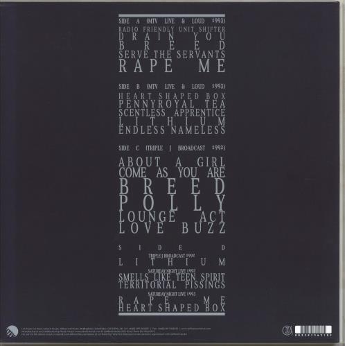 Nirvana (US) Feels Like The First Time - Blue vinyl 2-LP vinyl record set (Double Album) UK NIR2LFE769441