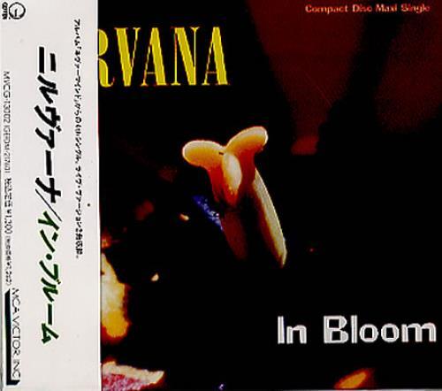"""Nirvana (US) In Bloom CD single (CD5 / 5"""") Japanese NIRC5IN349212"""
