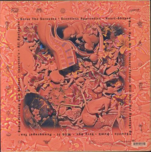 Nirvana (US) In Utero - Clear Vinyl vinyl LP album (LP record) US NIRLPIN27090
