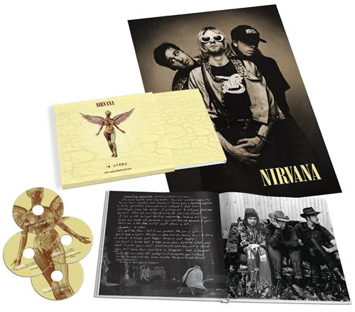 Nirvana (US) In Utero - Super Deluxe Edition CD Single Box Set UK NIRCXIN592079