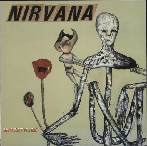 Nirvana (US) Incesticide - Blue Vinyl vinyl LP album (LP record) US NIRLPIN12333