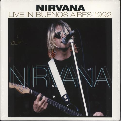 Nirvana (US) Live In Buenos Aires 1992 - Sealed 2-LP vinyl record set (Double Album) Dutch NIR2LLI772557
