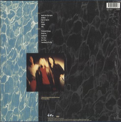 Nirvana (US) Nevermind - 180gm - Sealed vinyl LP album (LP record) UK NIRLPNE731038