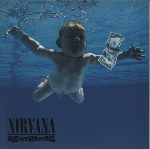 Nirvana (US) Nevermind - 180gm Vinyl vinyl LP album (LP record) UK NIRLPNE775220