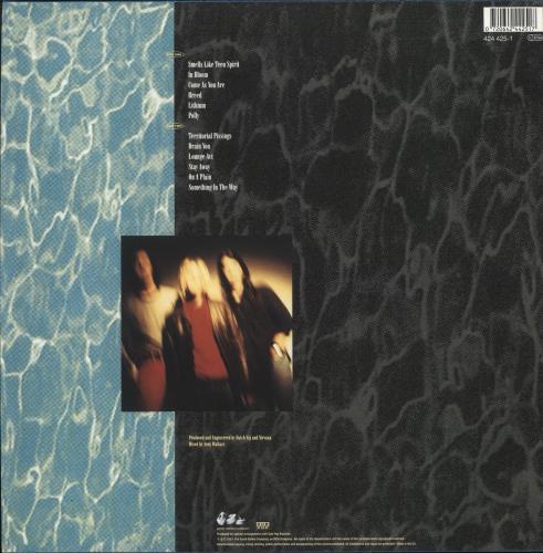Nirvana (US) Nevermind - 180gm vinyl LP album (LP record) UK NIRLPNE726738