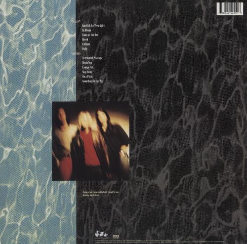 Nirvana (US) Nevermind - 180gm vinyl LP album (LP record) UK NIRLPNE755038