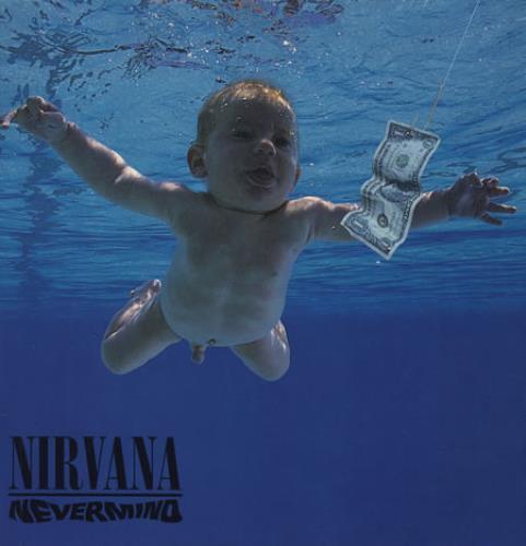 Nirvana (US) Nevermind - VG vinyl LP album (LP record) UK NIRLPNE367140