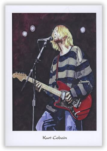 Nirvana (US) Pack Of Greeting Cards memorabilia US NIRMMPA397716