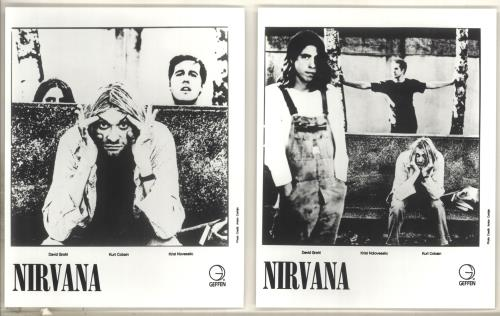 Nirvana (US) Quantity of Publicity Photographs photograph US NIRPHQU719587