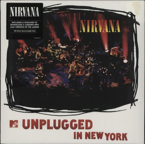 Nirvana (US) Unplugged In New York - 180gm - Sealed vinyl LP album (LP record) UK NIRLPUN764148