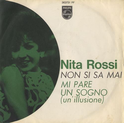 """Nita Rossi Non Si Sa Mai 7"""" vinyl single (7 inch record) Italian NJ207NO513350"""