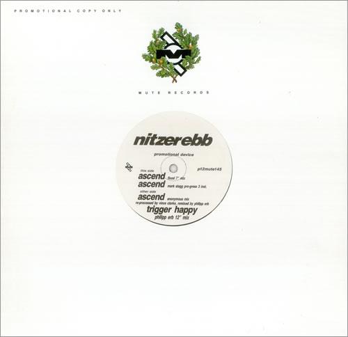 "Nitzer Ebb Ascend 12"" vinyl single (12 inch record / Maxi-single) UK EBB12AS445101"