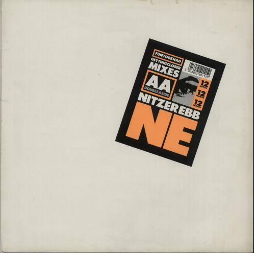 """Nitzer Ebb Fun To Be Had 12"""" vinyl single (12 inch record / Maxi-single) UK EBB12FU02951"""