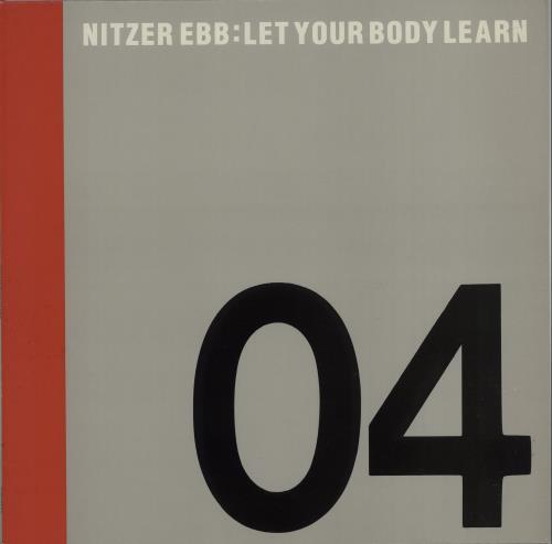 "Nitzer Ebb Let Your Body Learn 12"" vinyl single (12 inch record / Maxi-single) UK EBB12LE669745"