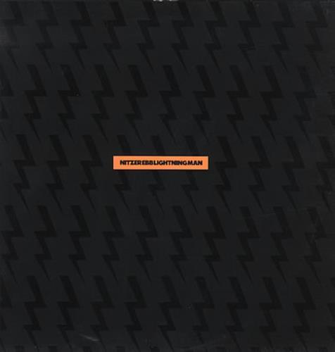 """Nitzer Ebb Lightning Man 12"""" vinyl single (12 inch record / Maxi-single) UK EBB12LI02936"""