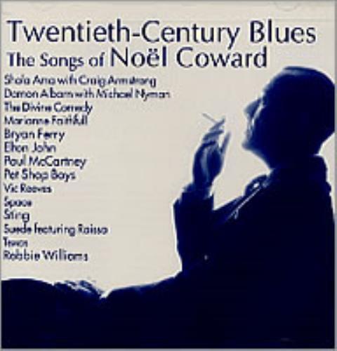 Noël Coward Twentieth-Century Blues CD album (CDLP) US NCACDTW204273