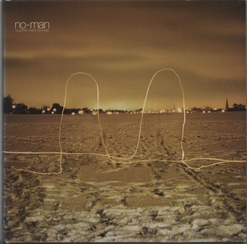 No-Man Together We're Stranger vinyl LP album (LP record) UK NAMLPTO672401