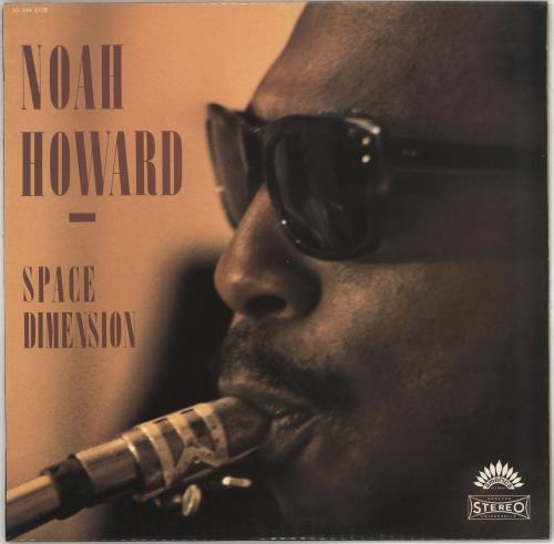 Noah Howard Space Dimension vinyl LP album (LP record) French Q4BLPSP707048