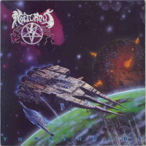 Nocturnus Thresholds vinyl LP album (LP record) UK NUGLPTH608028