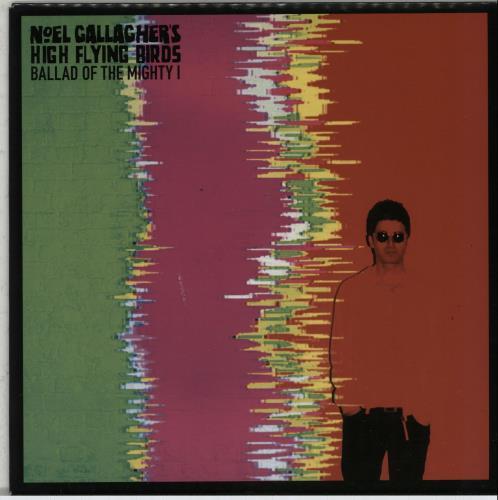 "Noel Gallagher Ballad Of The Mighty I - Pink Vinyl 7"" vinyl single (7 inch record) UK NGL07BA651161"