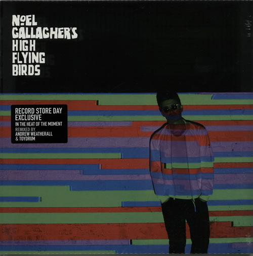 "Noel Gallagher In The Heat Of The Moment - RSD 15 - Sealed 12"" vinyl single (12 inch record / Maxi-single) UK NGL12IN628126"