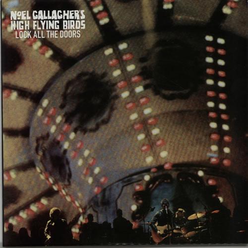 "Noel Gallagher Lock All The Doors - Black Vinyl 7"" vinyl single (7 inch record) UK NGL07LO639524"