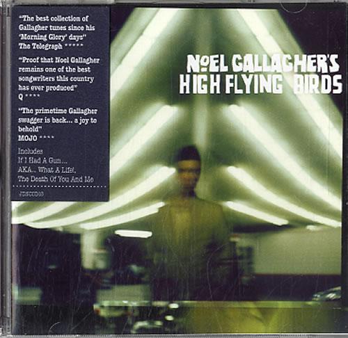 Noel Gallagher Noel Gallagher's High Flying Birds CD album (CDLP) UK NGLCDNO562229