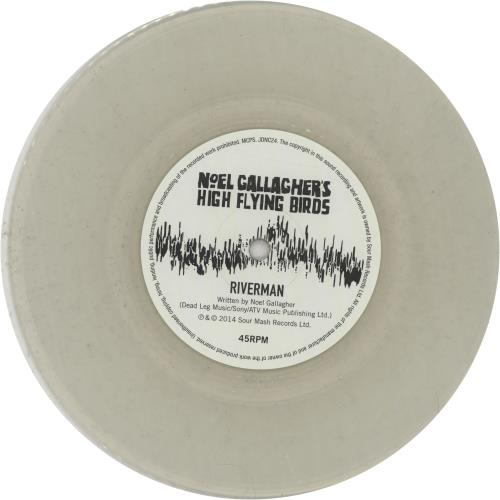 "Noel Gallagher Riverman - Clear Vinyl 7"" vinyl single (7 inch record) UK NGL07RI651164"