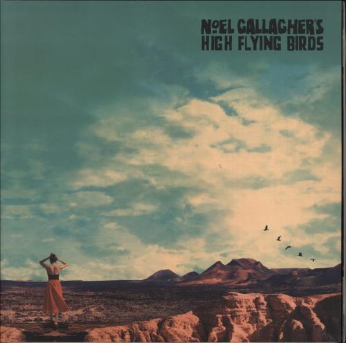 Noel Gallagher Who Built The Moon? - 180gm Vinyl vinyl LP album (LP record) UK NGLLPWH772558