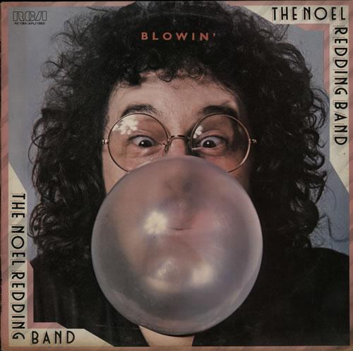 Noel Redding Blowin' vinyl LP album (LP record) UK NOELPBL567408