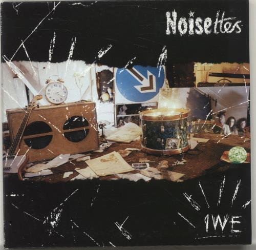 "Noisettes IWE + Poster 7"" vinyl single (7 inch record) UK NO507IW537735"