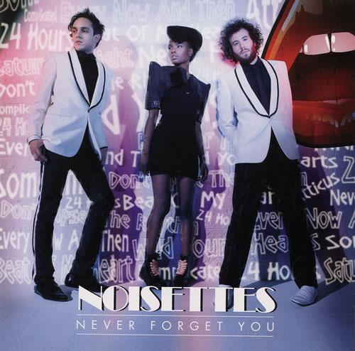"Noisettes Never Forget You 7"" vinyl single (7 inch record) US NO507NE481008"
