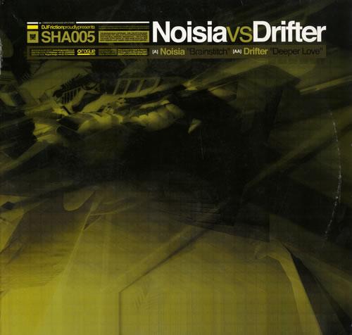 "Noisia Brainswitch/Deeper Love 12"" vinyl single (12 inch record / Maxi-single) UK NQJ12BR560910"