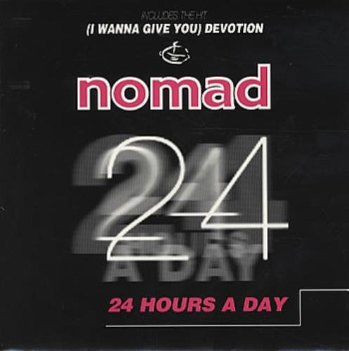 "Nomad 25 Hours A Day 7"" vinyl single (7 inch record) UK NOM07HO303527"