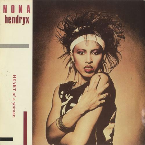 "Nona Hendryx Heart Of A Woman 7"" vinyl single (7 inch record) UK NOH07HE511668"