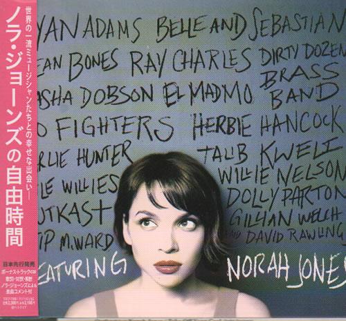 Norah Jones ...Featuring CD album (CDLP) Japanese NRJCDFE635368