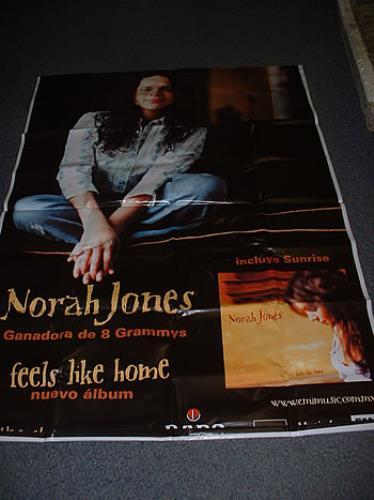 Norah Jones Feels Like Home display Mexican NRJDIFE280023