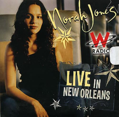 Norah Jones Live In New Orleans Colombian Promo Cd Album
