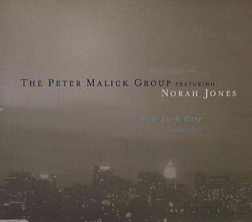 """Norah Jones New York City CD single (CD5 / 5"""") Australian NRJC5NE310454"""