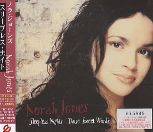 "Norah Jones Sleepless Nights CD single (CD5 / 5"") Japanese NRJC5SL322329"