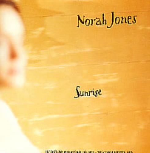 "Norah Jones Sunrise CD single (CD5 / 5"") UK NRJC5SU276749"