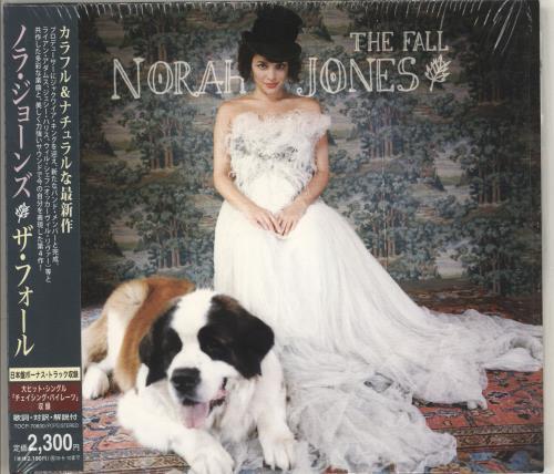 Norah Jones The Fall CD album (CDLP) Japanese NRJCDTH486263