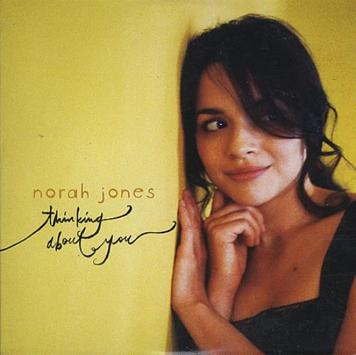"Norah Jones Thinking About You CD single (CD5 / 5"") Mexican NRJC5TH389842"